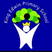 King Edwin Logo Blue